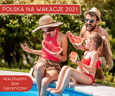 polska na wakacje z bonem 500+