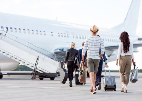 wyjazdy samolotem