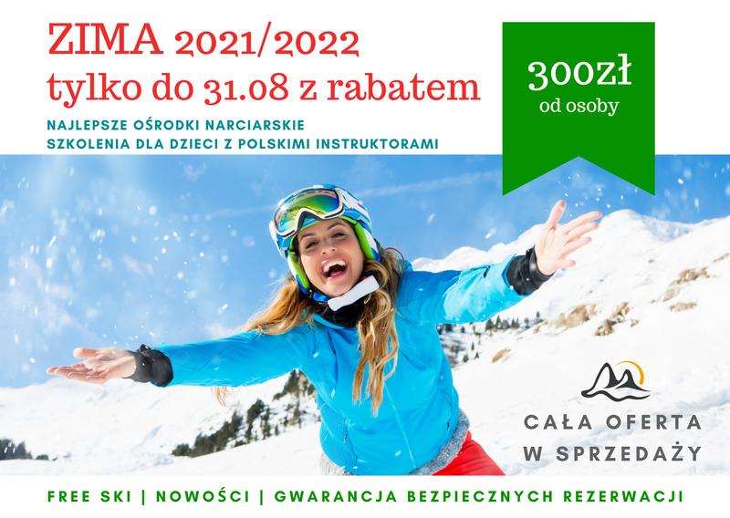 wyjazdy zimowe 2022